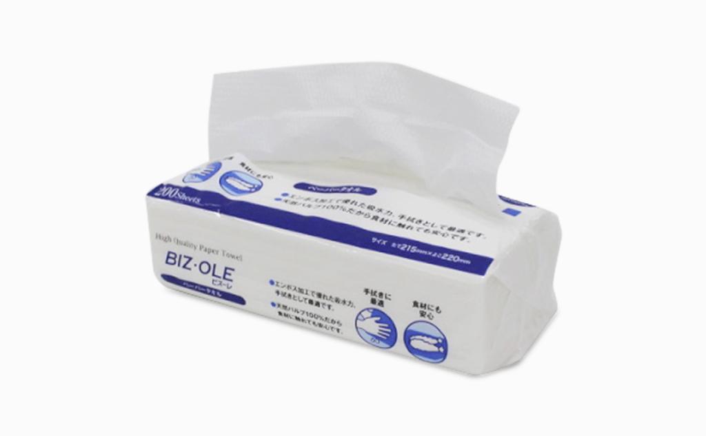 BIZ・OLE-ビズーレ-ペーパータオル