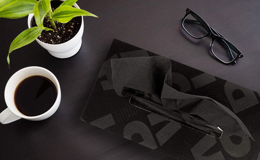 BLACK TISSUES|20箱入り