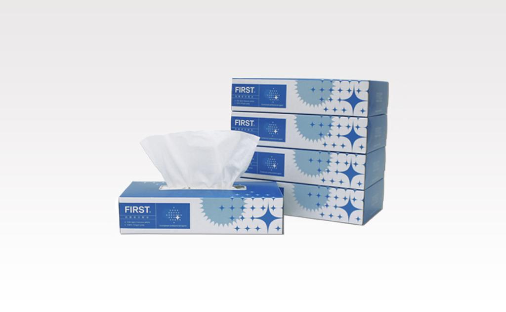 ファースト抗菌ティッシュ150組 5箱パック