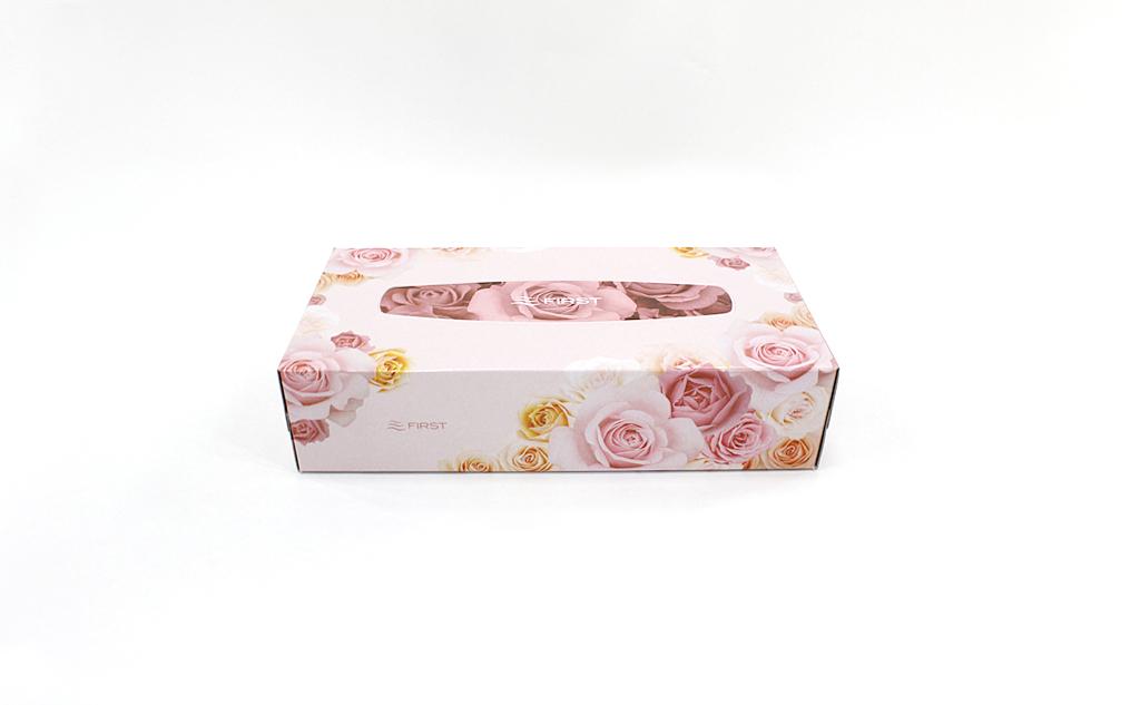 【60箱入り】ファーストボックスティッシュ200組(400枚)(5箱パック 12個入り)